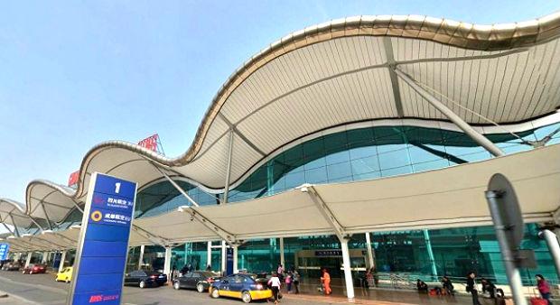 Toàn cảnh sân bay Giang Bắc Thâm Quyến rất đẹp