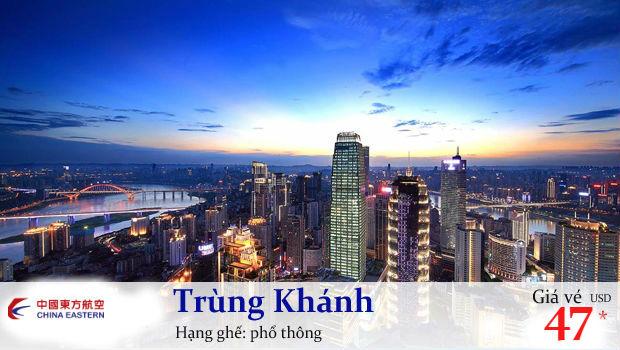 Săn vé máy bay giá rẻ đi Trùng Khánh