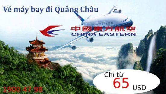 Đặt vé máy bay đi Quảng Châu china eastern airlines