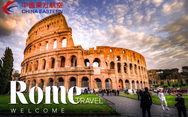 Giá vé máy bay đi Rome rẻ nhất China Eastern