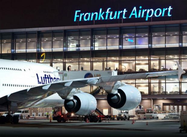 Sân bay quốc tế Frankurt được thiết kế hiện đại