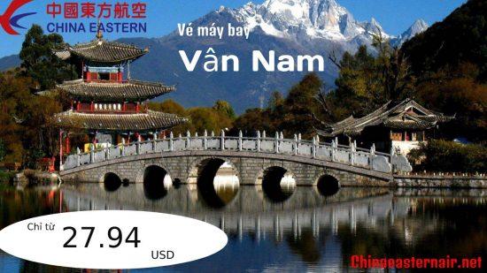 Đặt vé máy bay đi Vân Nam Trung Quốc giá rẻ China Eastern Airlines