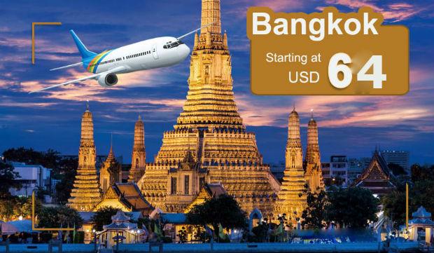 Vé máy bay đi Bangkok China Eastern