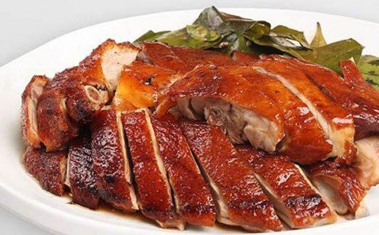 Món vịt quay Tứ Xuyên nổi tiếng