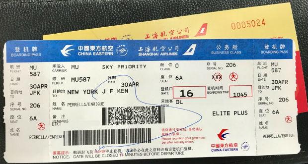 Quy định đổi vé máy bay China Eastern Airlines chi tiết nhất