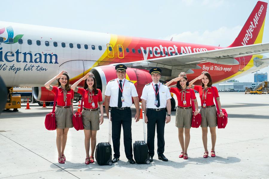 Vietjet Air khuyến mãi 200.000 vé quốc tế trong tháng 8