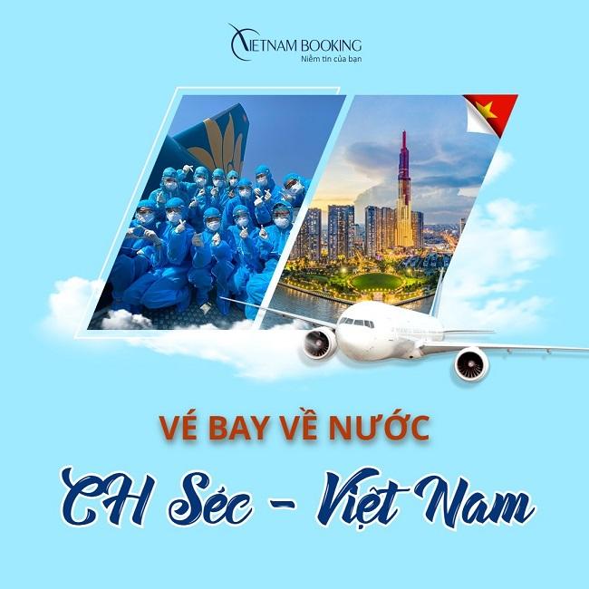 Vé máy bay từ Praha về Việt Nam