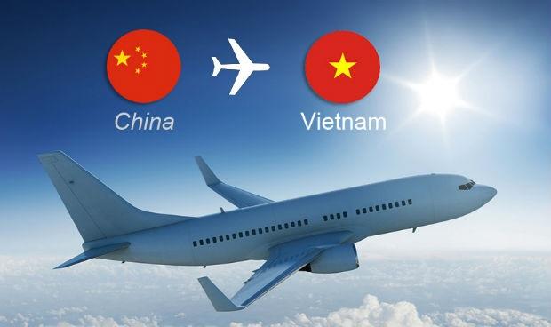vé máy bay Trung Quốc về Việt Nam